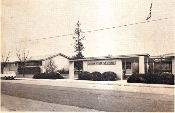 Vintage Picture of Sierra Vista Elementary
