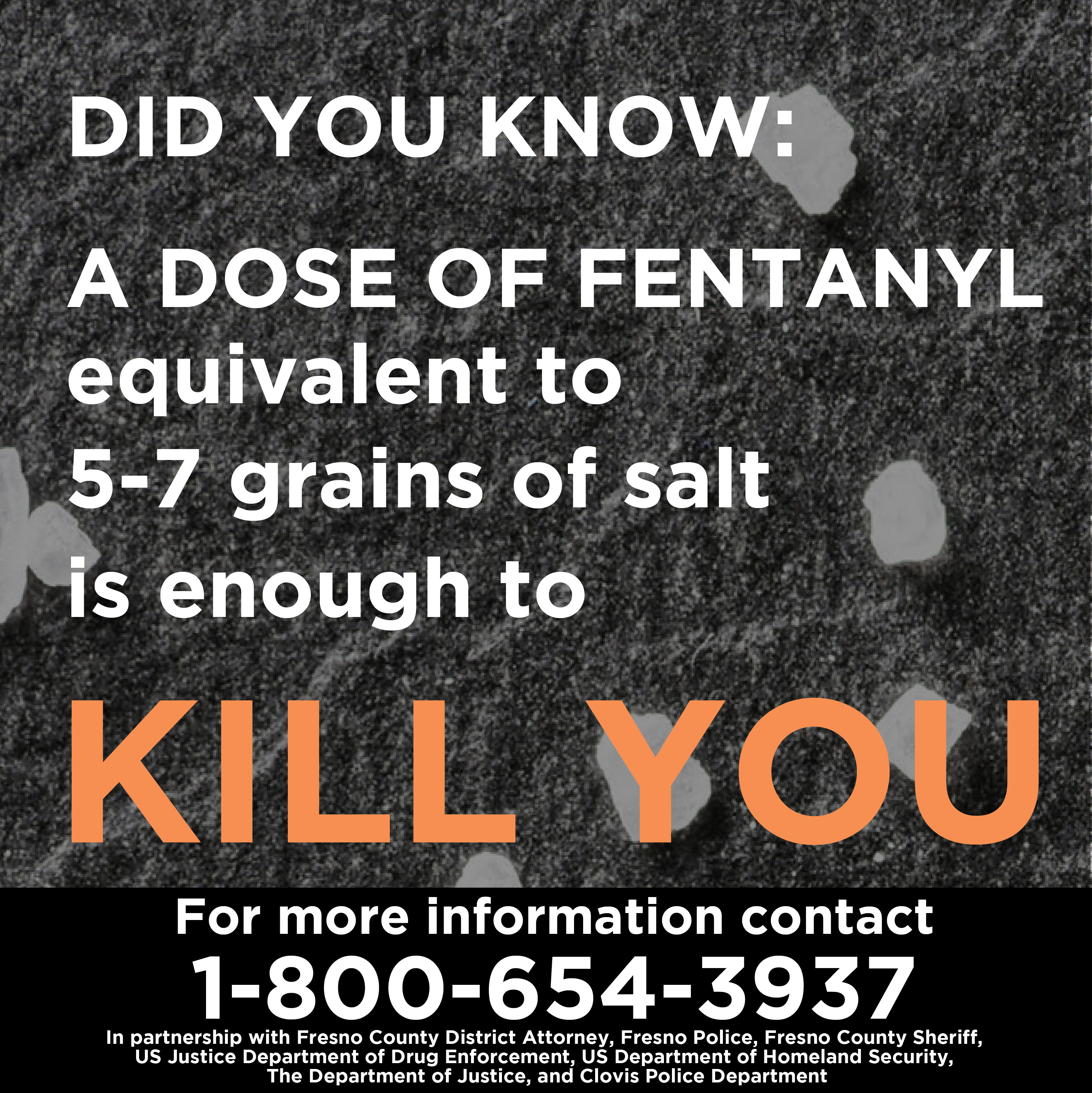 Poster with Info about Fentanyl