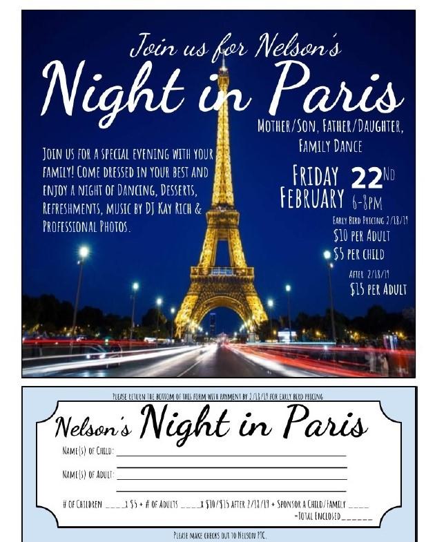 Nelson's Night In Paris