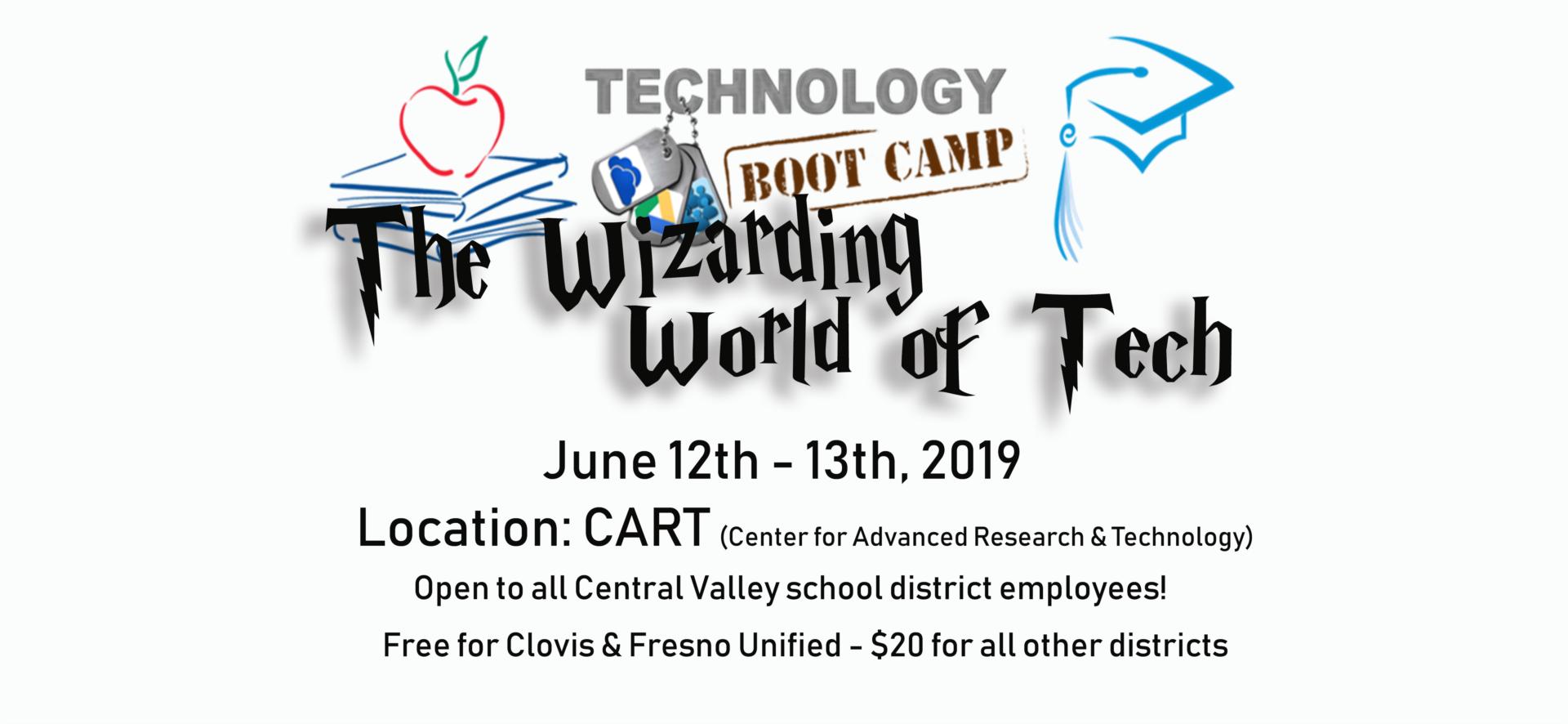Bootcamp Invite June 12-13 Location CART