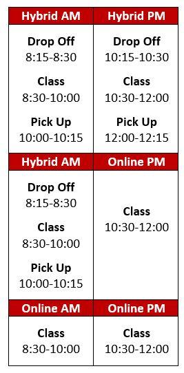 june 4th schedule