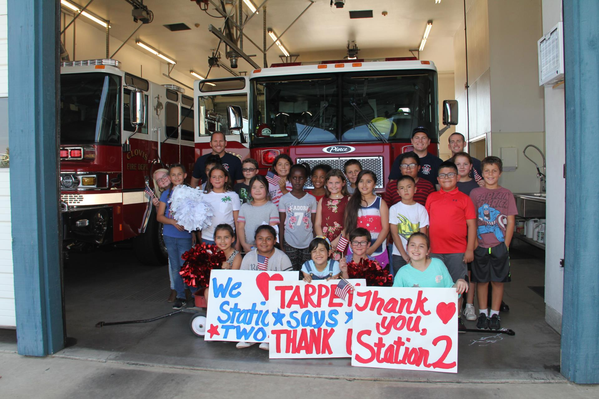 student council and fire station #2