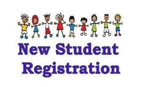 New Student Registration clipart