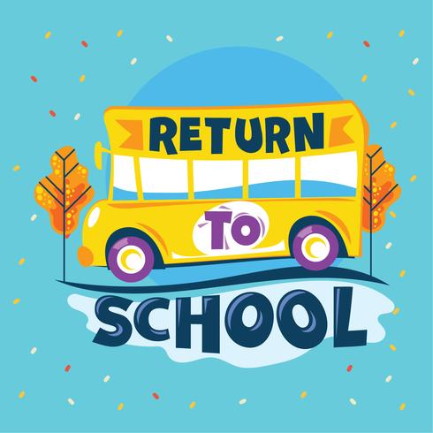 Return to School clipart