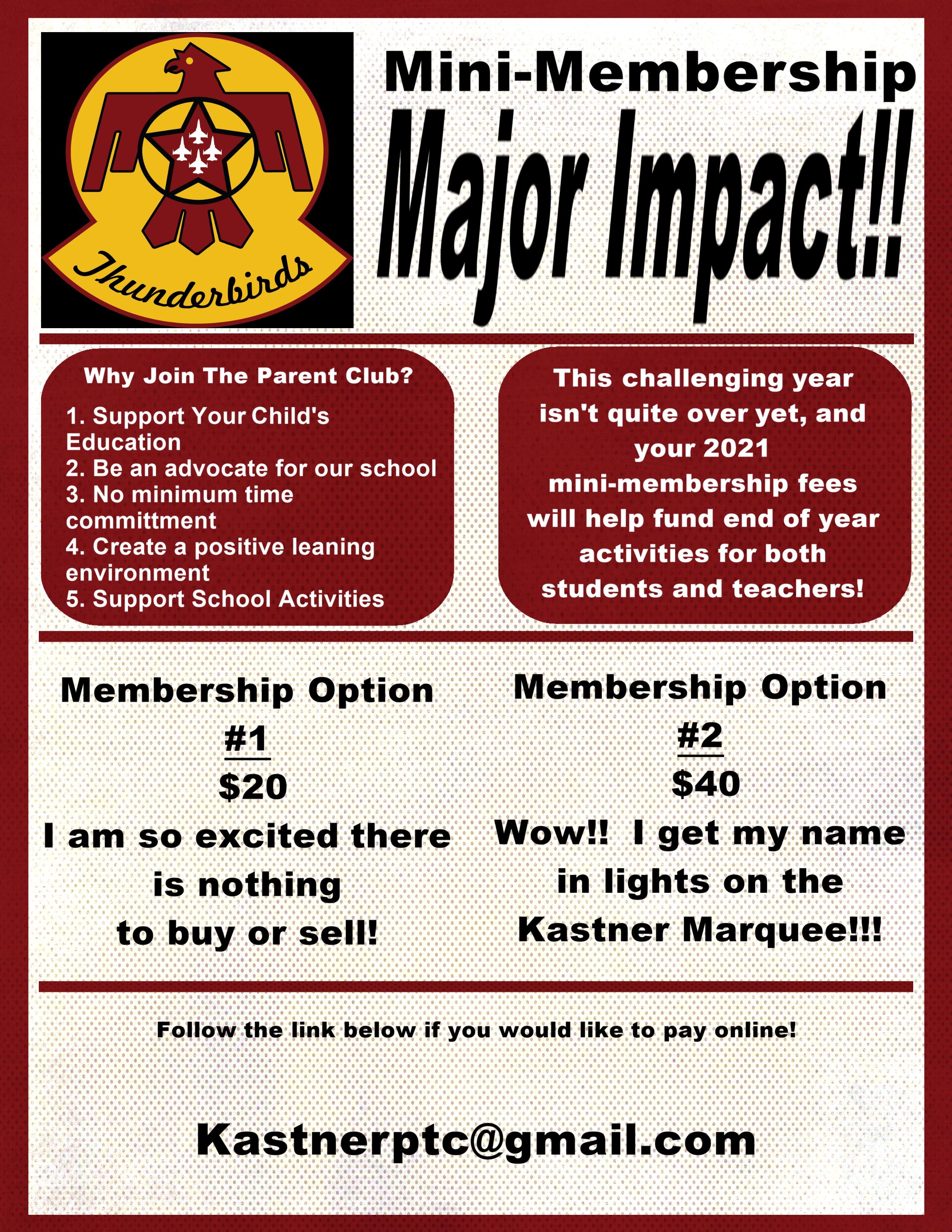 PTC membership info