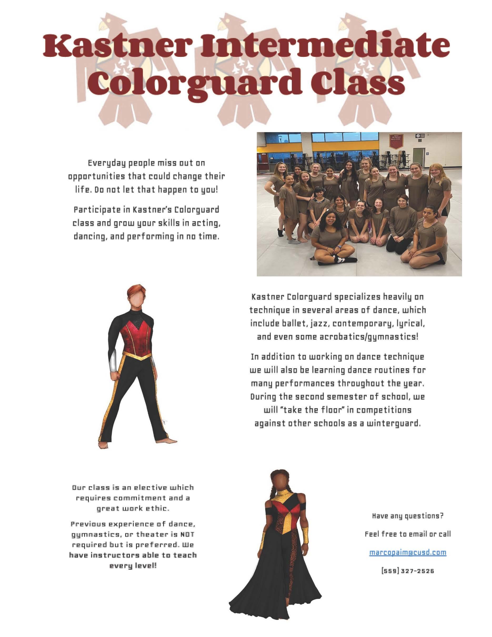 color guard class