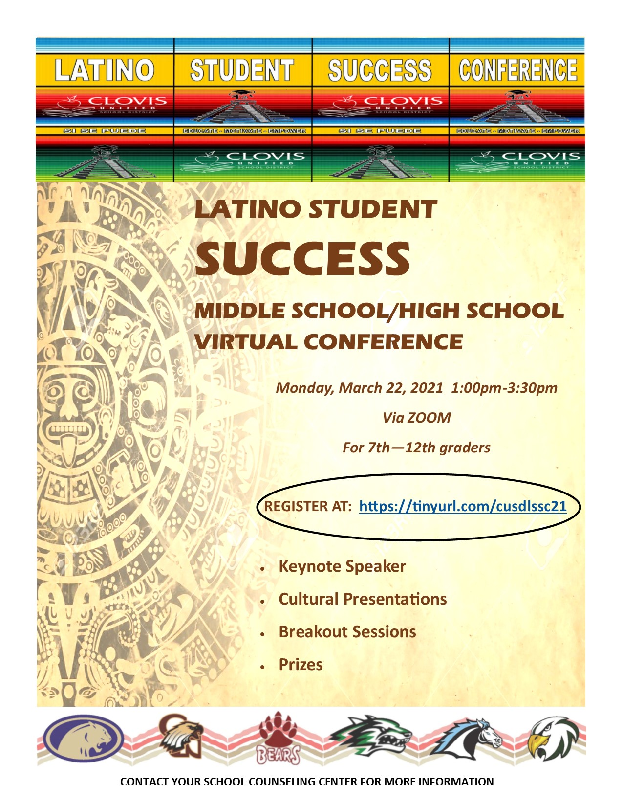 Latino Student Success Conference