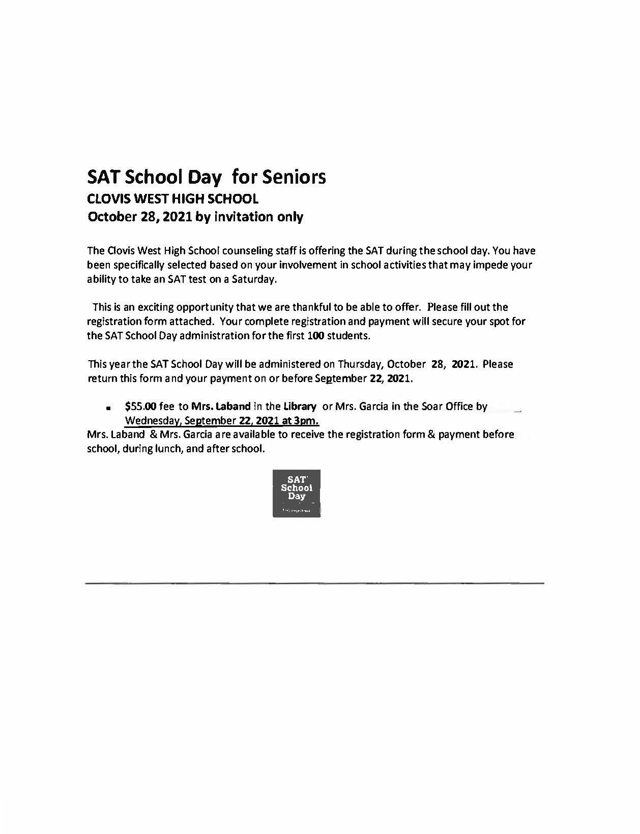 SAT flyer