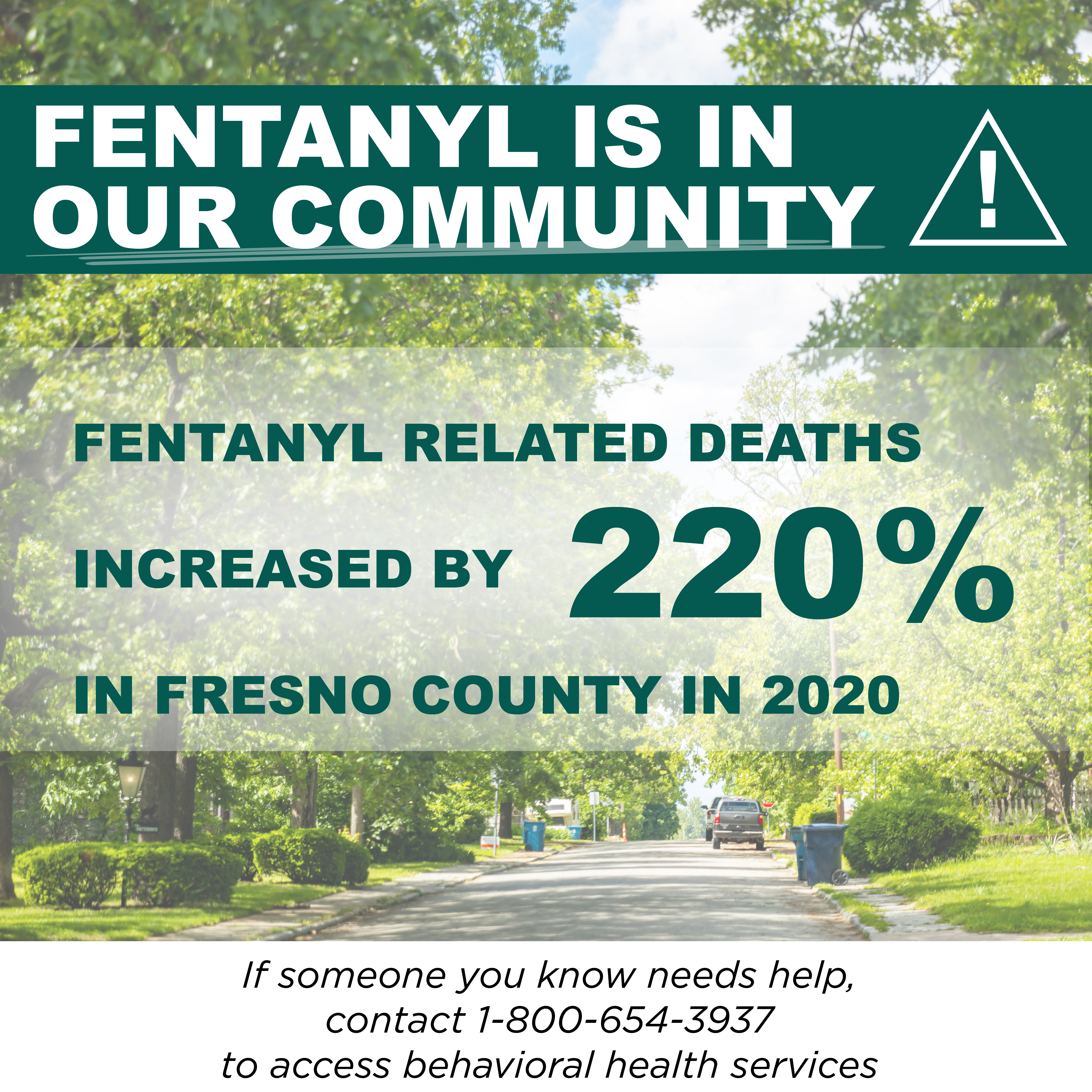 Fentanyl is in Our Community