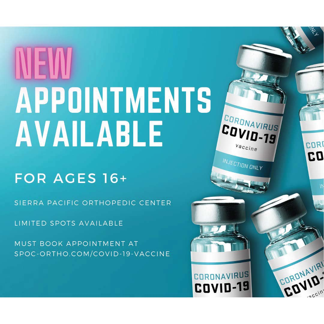 Vaccine Available for 16 and over