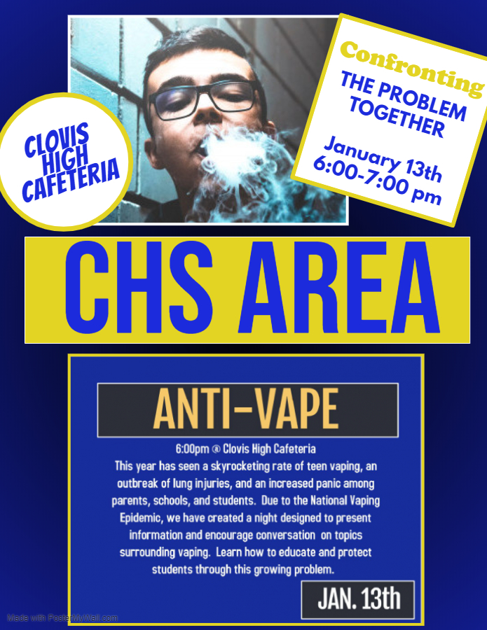 Anti-Vape Flyer