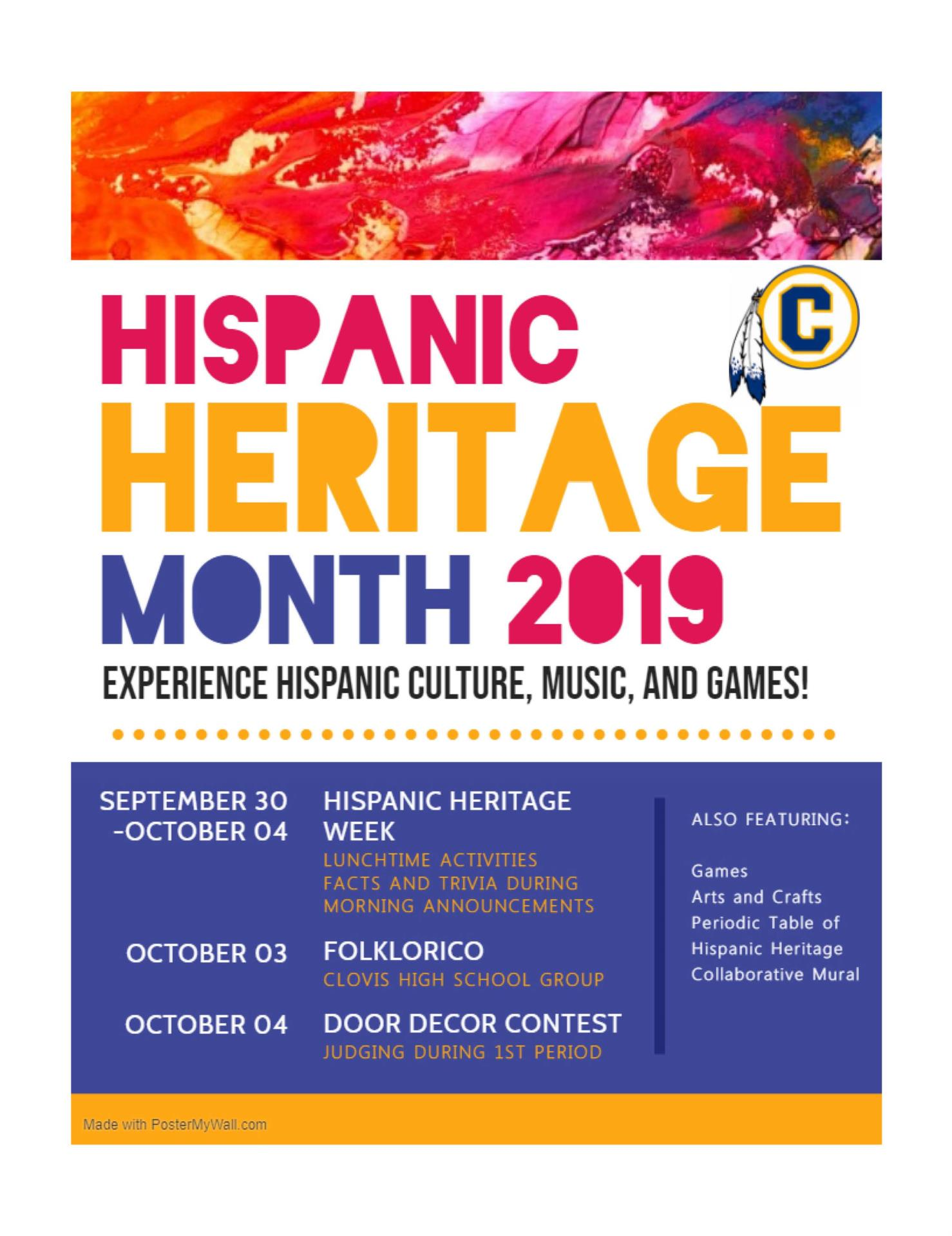 Hispanic Heritage Flyer