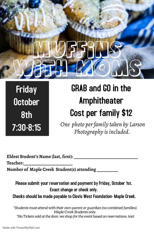 Muffins with Moms Info