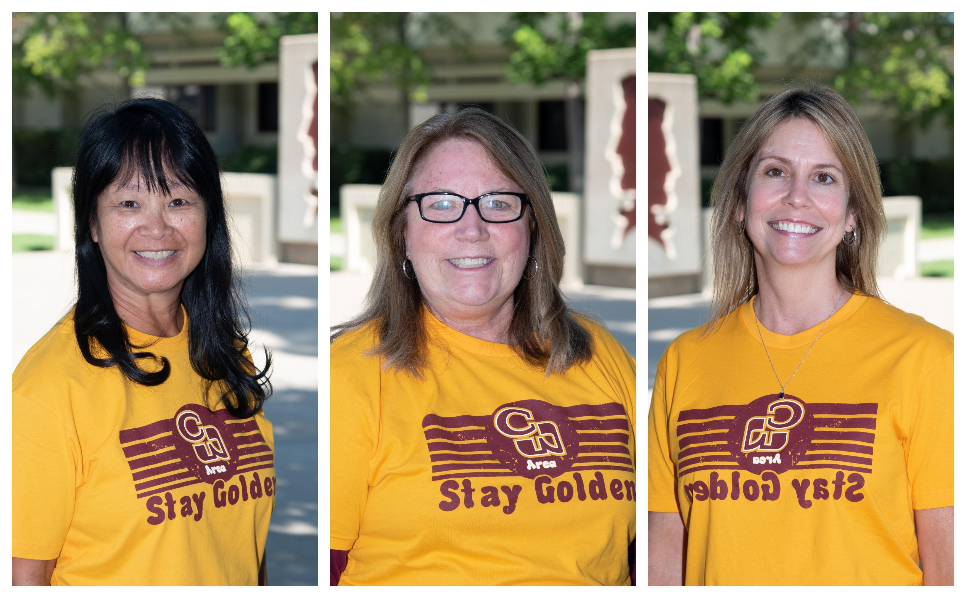 photo of  Sue Hirata, Debbie Cobb, and Tracey Cameron