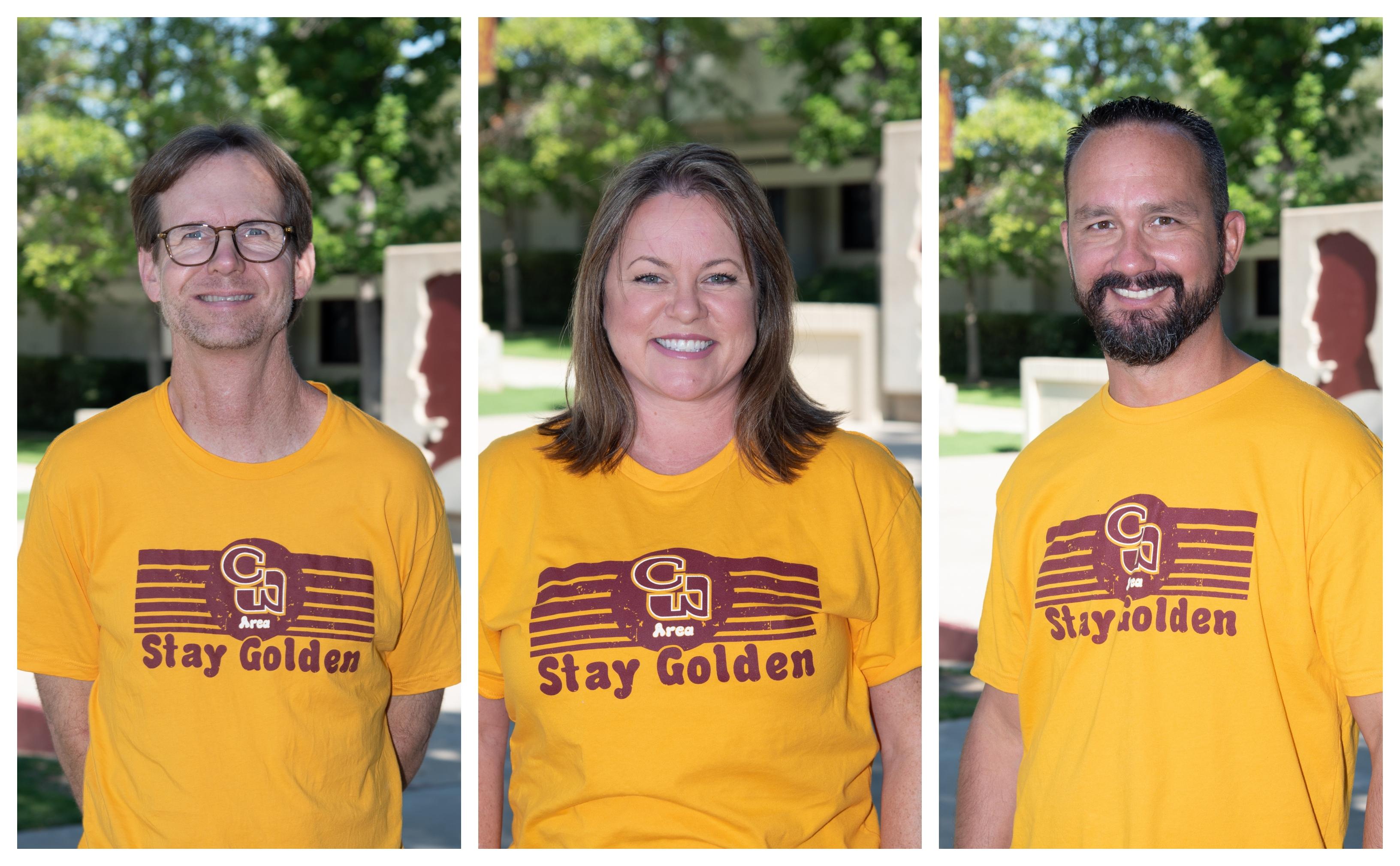 photo of  Tom McBride, Rachelle Pirok, and Steve Dunbar