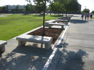 Amphitheater Seating/New Drainage