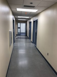 Counseling Center Hallway