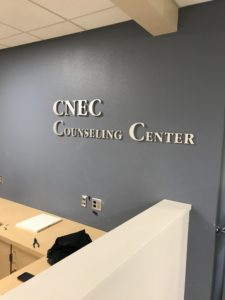 Counseling Center Signage