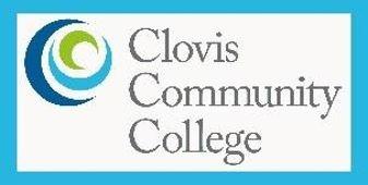 Clovis Community College Logo that links to website