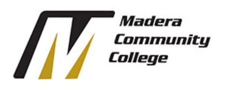 Madera Community College Logo and link to website