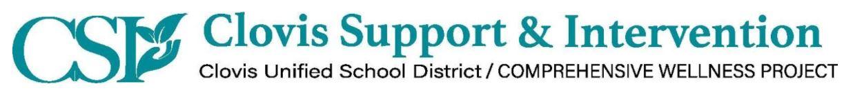 CSI Clovis Support & Intervention logo