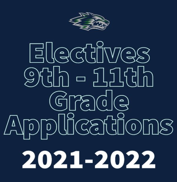 Electives 9th - 11th Grade Applications picture