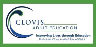 Clovis Adult Education logo picture