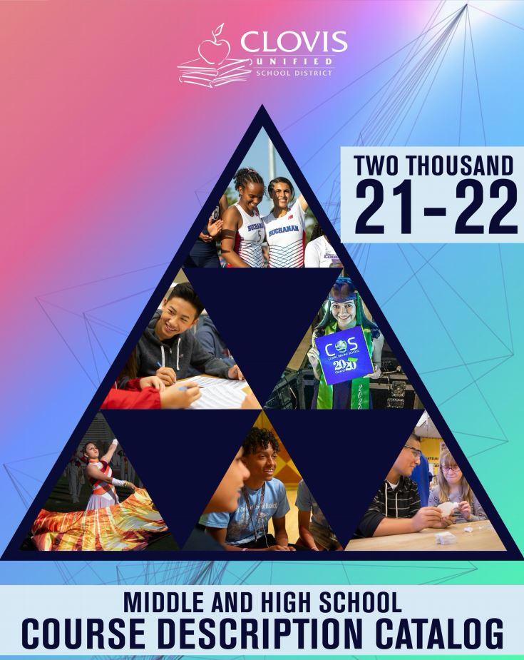 2021.2022 CUSD Course Catalog Picture
