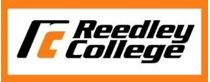 Reedley College Logo that links to website
