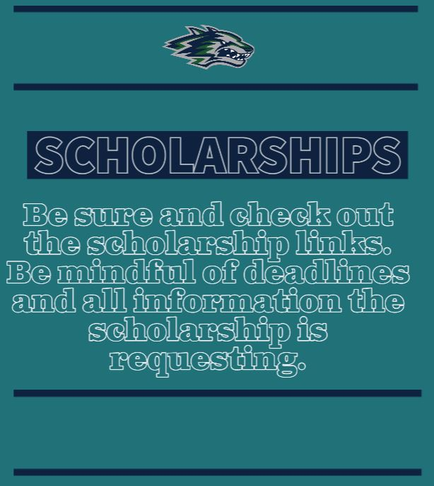 Scholarship picture reminding to check deadlines and all information for the scholarship the student fills out.