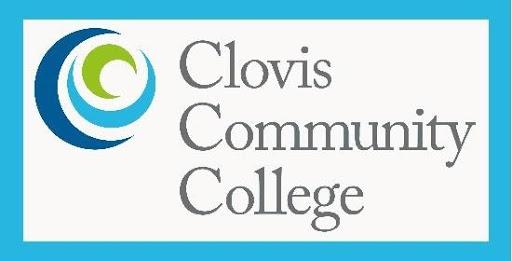 Clovis Community College Logo and link to website