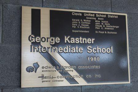 Kastner Plaque