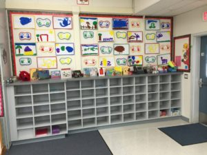 Kindergarten Cubbies