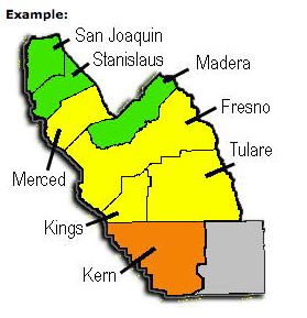 Counties in South California Air Quality