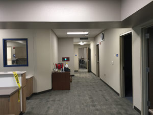 Administration Building Hallway