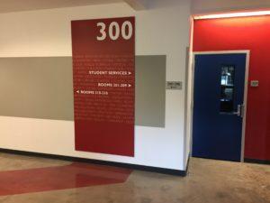 Way-finding Hallway