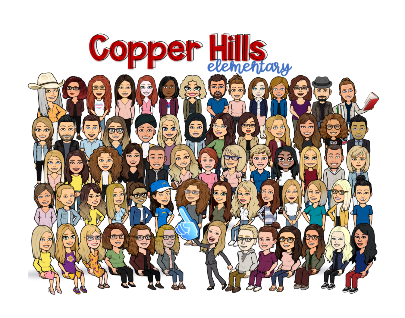Copper Hills Staff