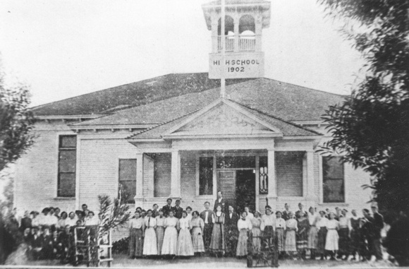 Clovis High School c. 1908