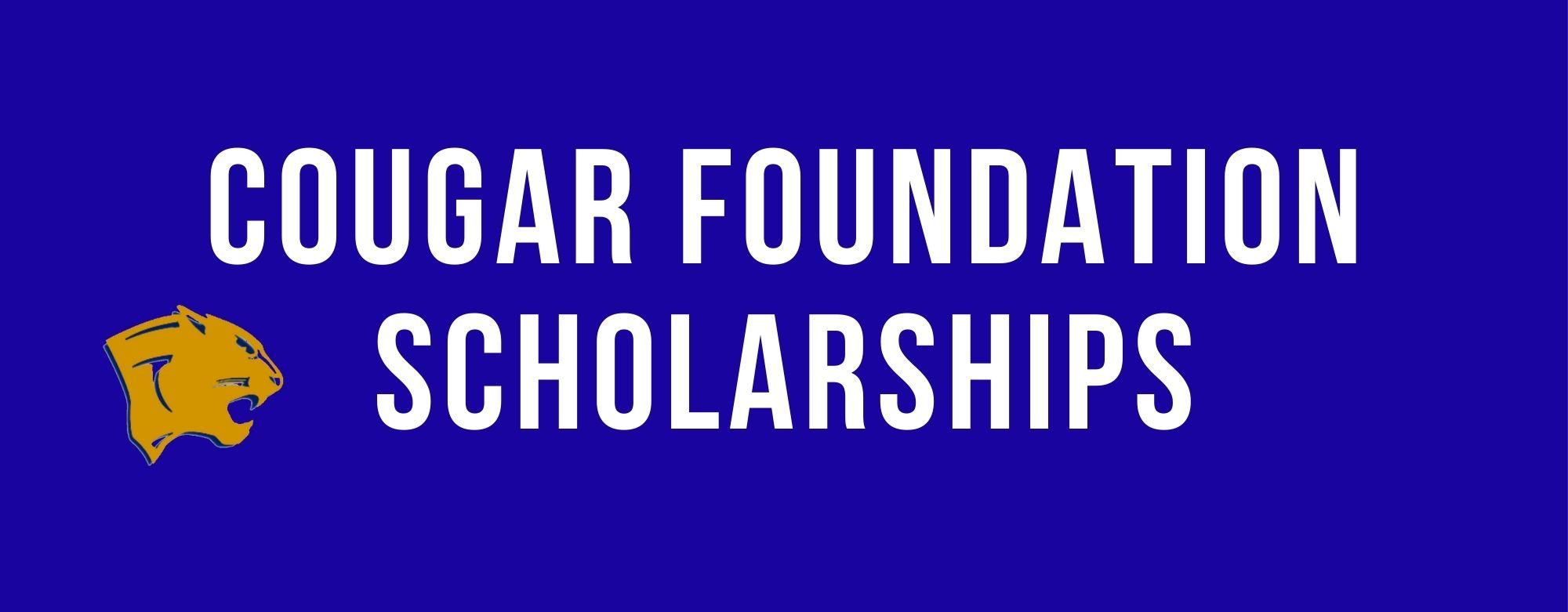 Cougar Foundation Scholarships banner