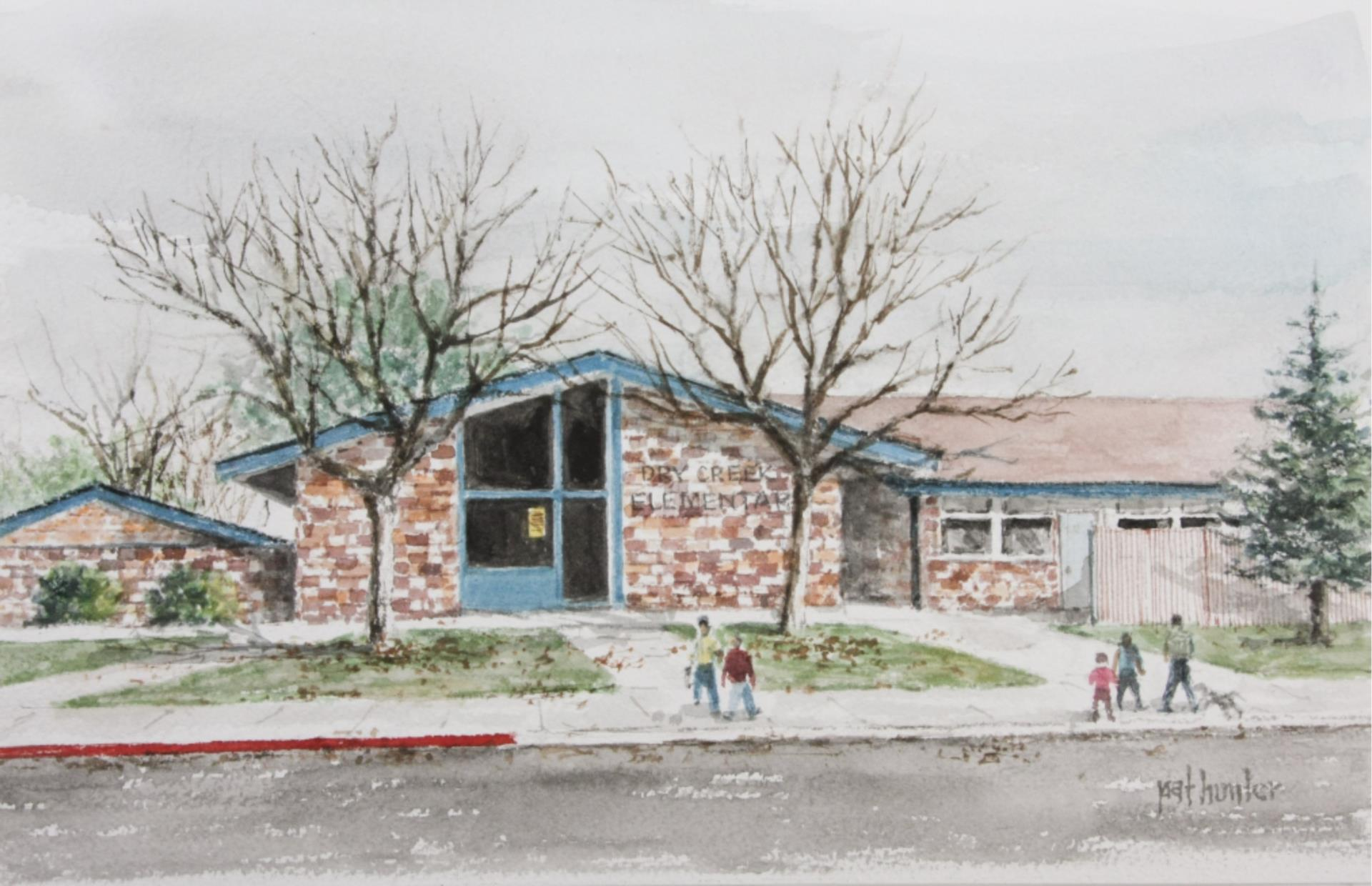Dry Creek Front Office Watercolor