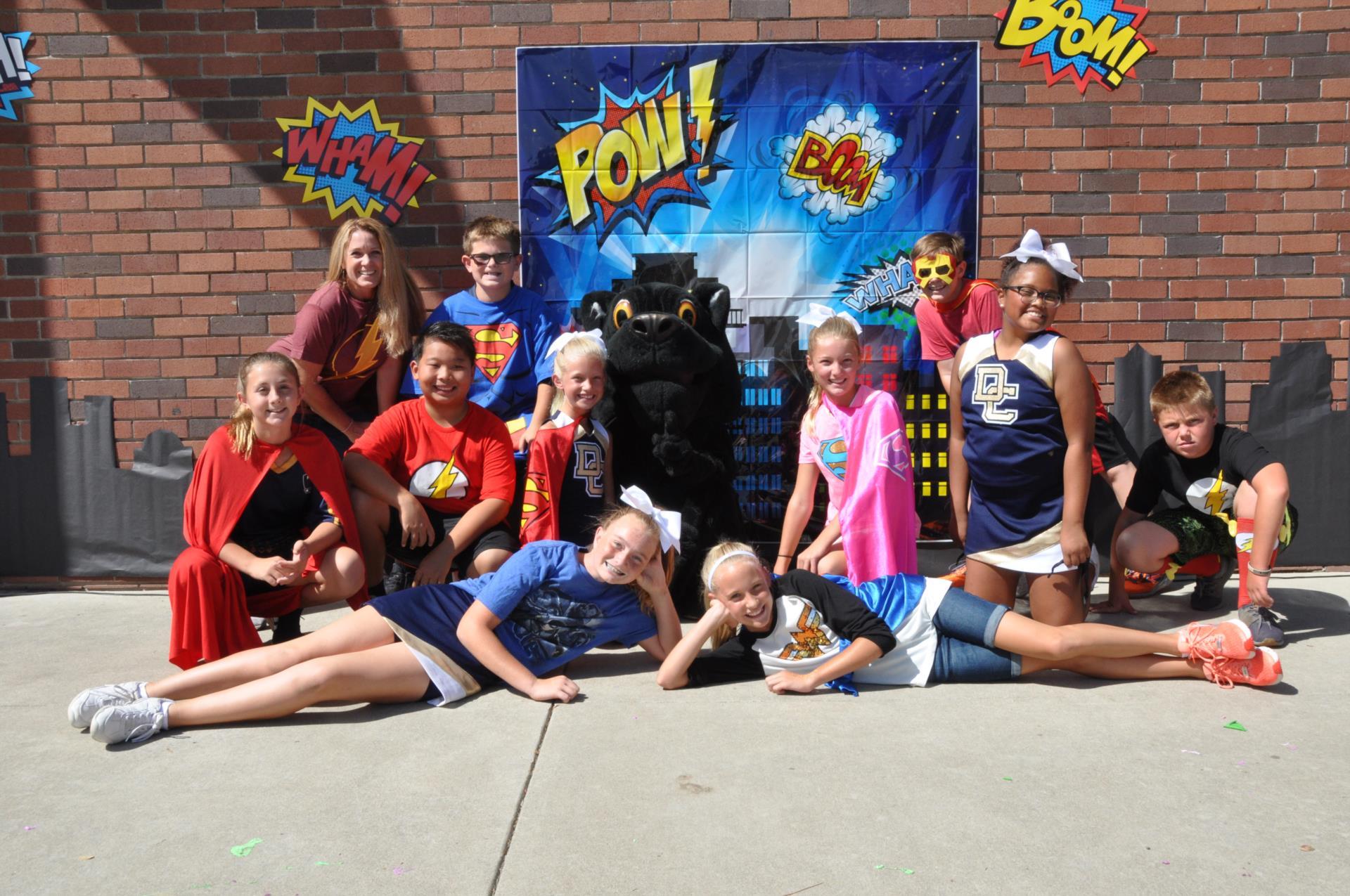 Student Council Super Heros