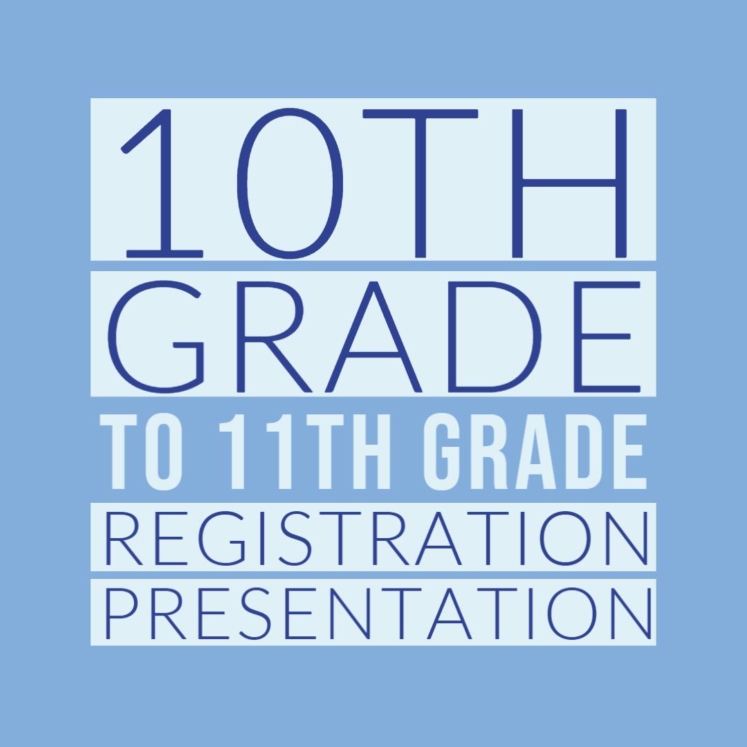 10th-11th grade reg presentation