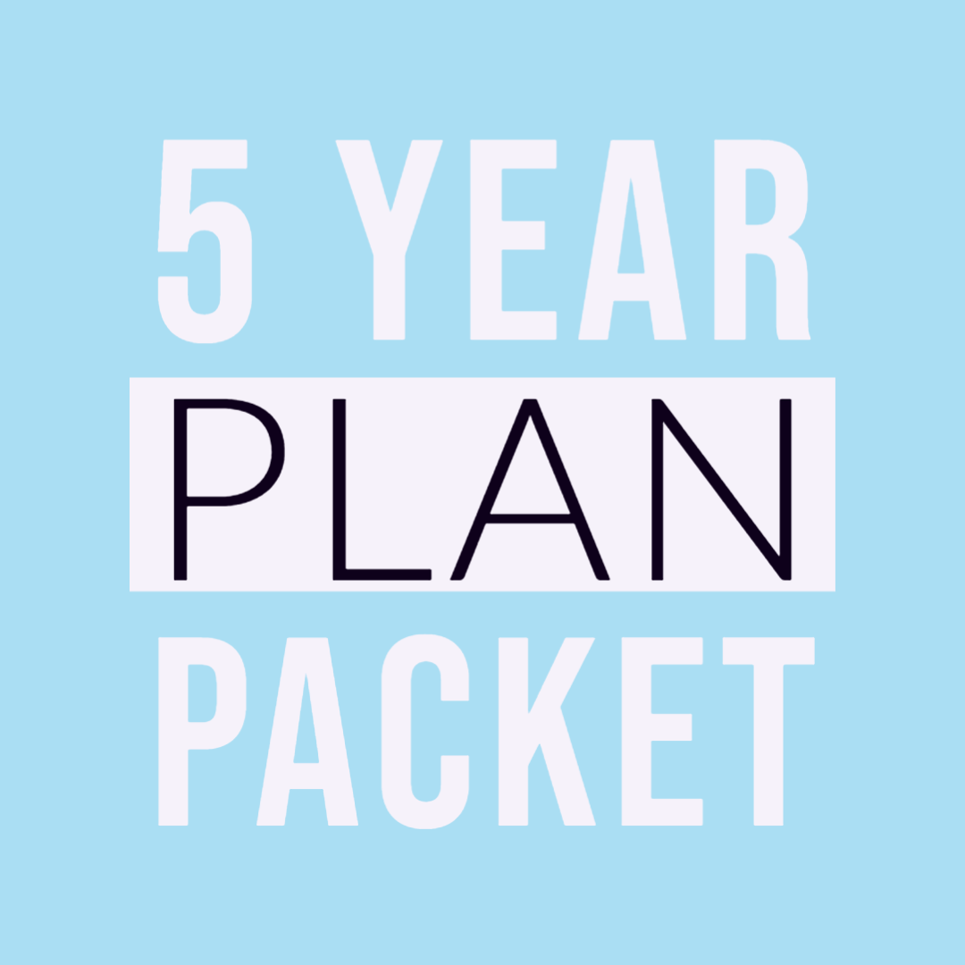5 year packet
