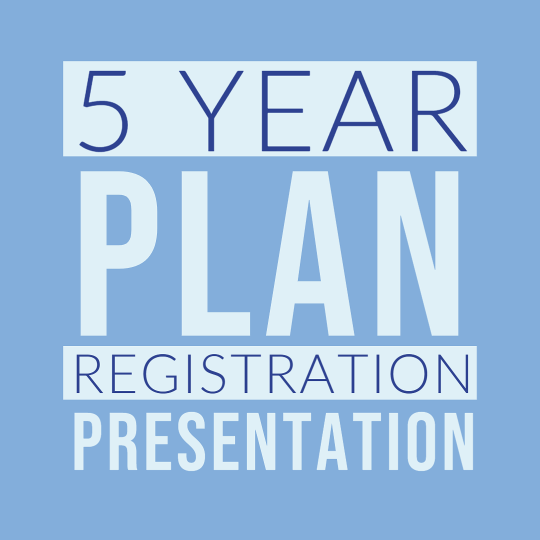 5 year plan presentation