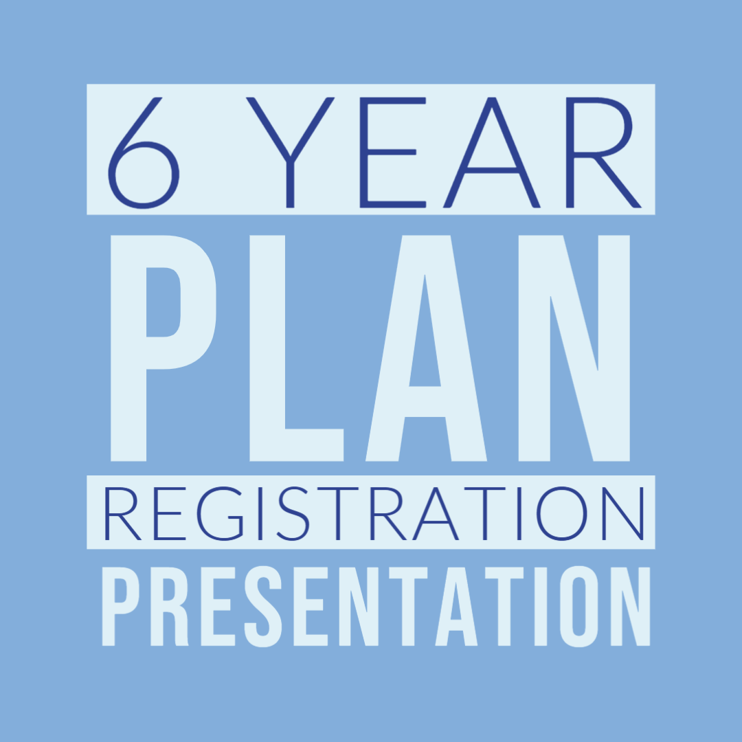6 year plan presentation
