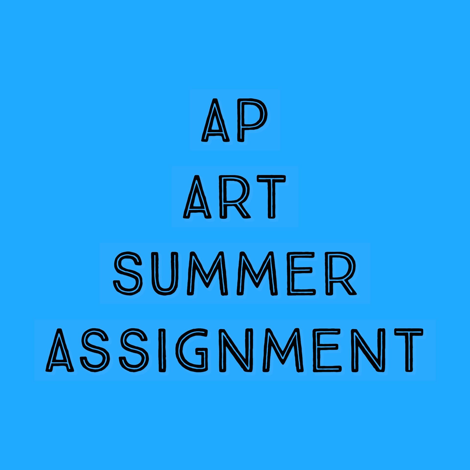 AP ART SUMMER