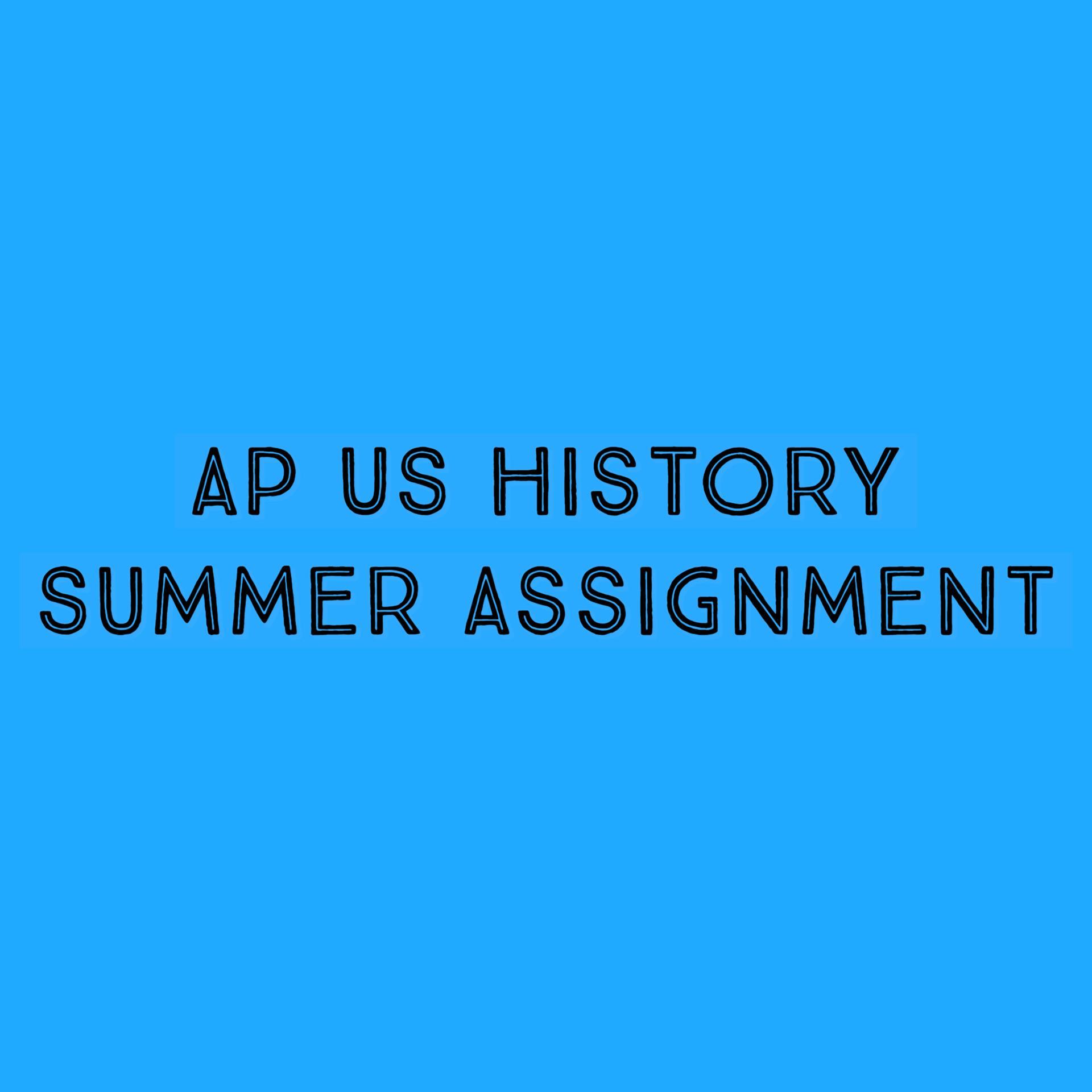 APUSH SUMMER