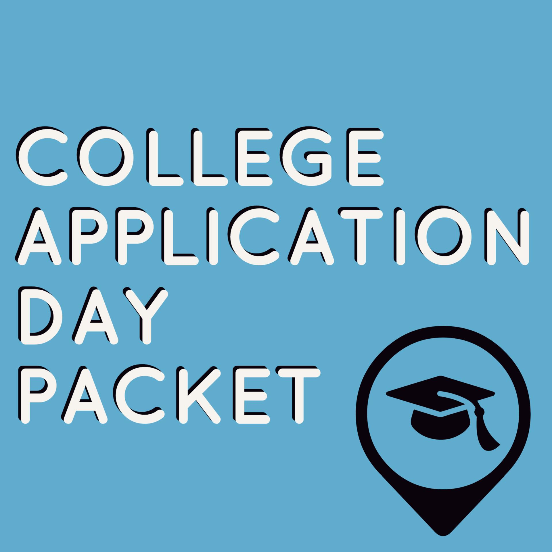 Bronco College Application Day Packet