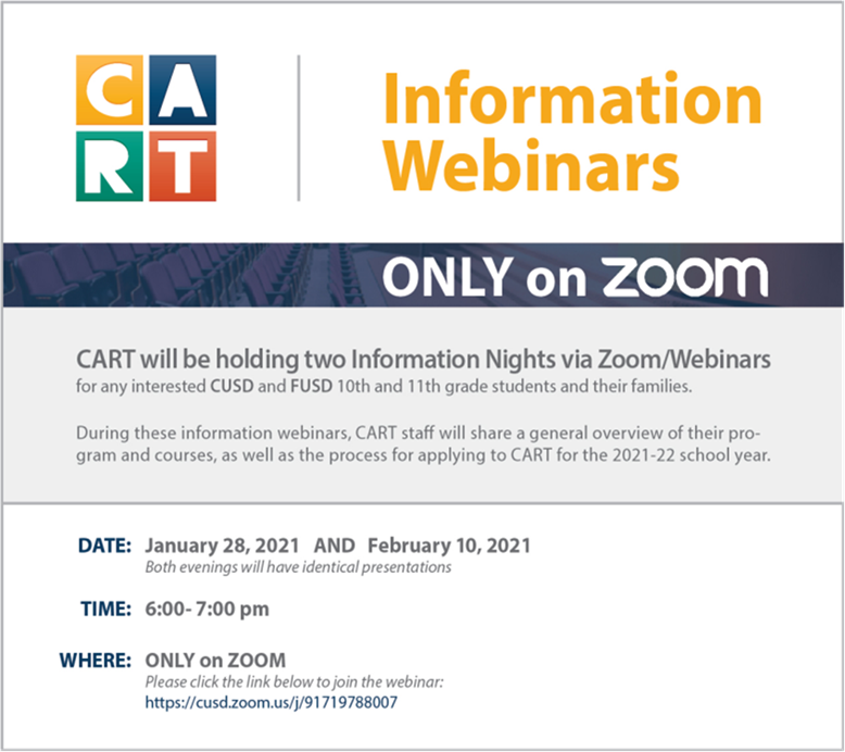 CART information Nights