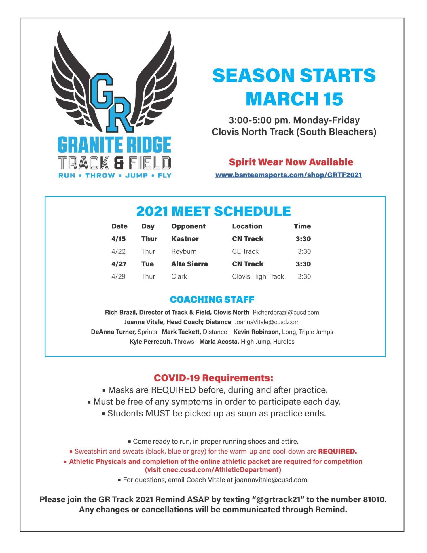 GR Track Season 2021